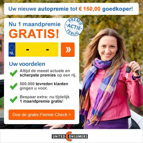 € 150 Korting op uw autoverzekering premie